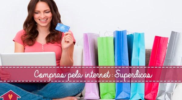 fazer compras de natal pela internet