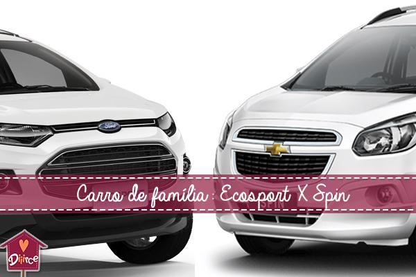 De carro com 3 crianças: Spin X Ecosport