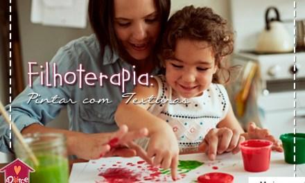 Pare o que estiver fazendo agora e vá pintar com texturas com seu filho