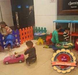 Restaurante com área para crianças no ABC
