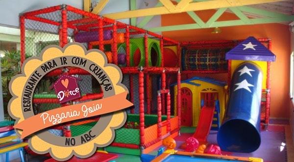 Pizzaria com espaço kids no ABC - Pizzaria Joia