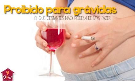 10 coisas que as grávidas não podem fazer