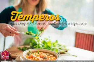 Temperos e condimentos: guia completo