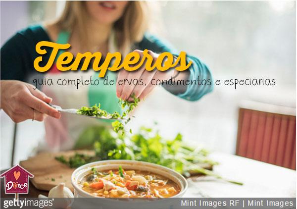 Temperos e condimentos: como usar e armazenar