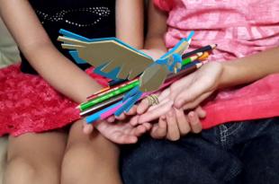 Transforme seus lápis em animais! Floresta sem fim