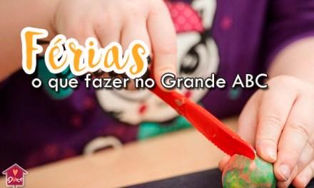 Programação de Férias para crianças: O que fazer no Grande ABC
