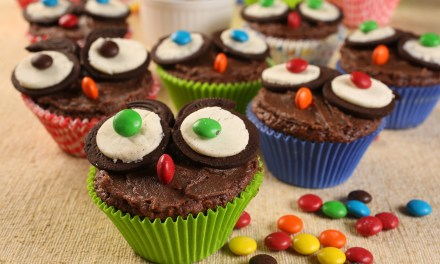 Receita para fazer com as crianças: Brownie Corujinha
