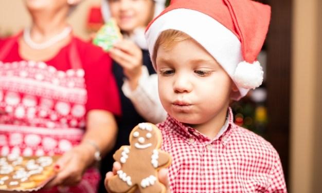 Receitas de Natal para as Crianças