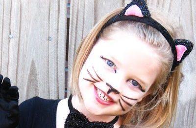 Maquiagem de Carnaval para Crianças Passo a passo
