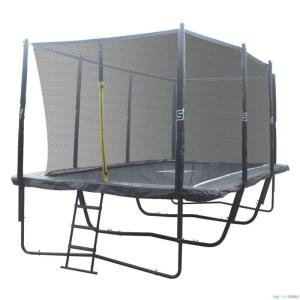 iSport Air Black 5,2 x 3m 120 jousta trampoliini turvaverkolla
