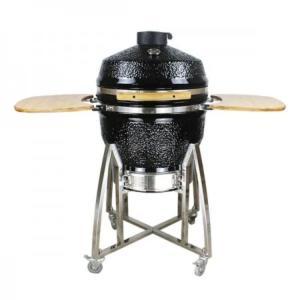 "Loimo Kamado keraaminen grilli 26"" - musta"