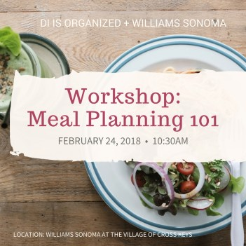 IG Meal Planning
