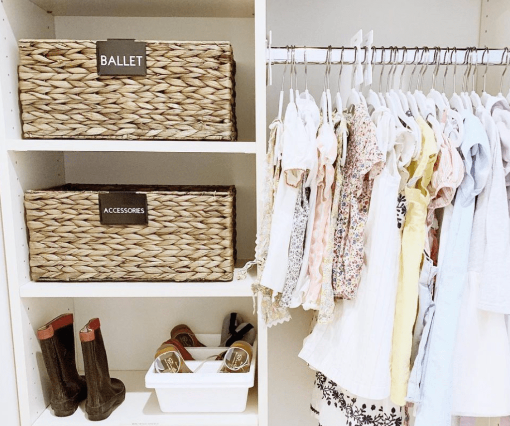 Kids closet - Hands-on Organizing services - Home Professional Organizer - Baltimore, MD