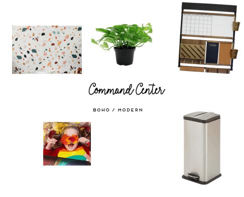 Command Center mood board