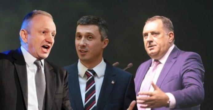 """DODIK NA UDARU SRBIJANSKE OPOZICIJE: """"Đilas i Obrađović hoće da protjeraju Dodika""""!"""
