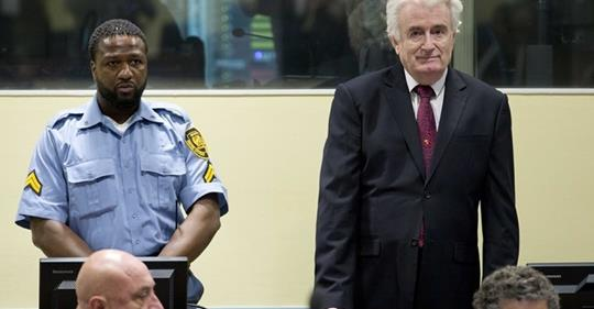 Karadžić provocira iz zatvora: Srpski narod i ja smo pobijedili, Republika Srpska je stvorena