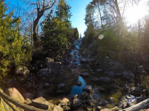 Vodopad Viktoriaparka