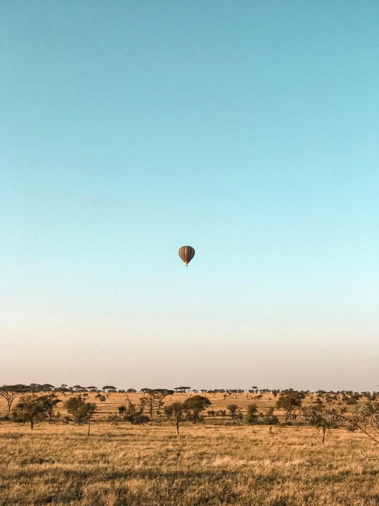 Ballon ride in Serengeti National Park
