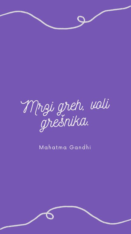 Mahatma Gandi - citati