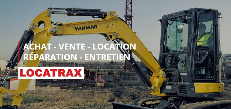 Locatrax, Engins de chantier & matériel de travaux publics à Dijon