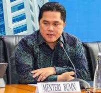 Menteri Menteri BUMN Erick Thohir Memangkas Direksi PTPN I Hingga XIV