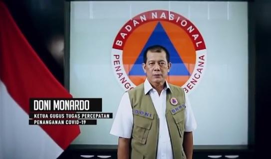 Ketua Gugus Tugas Percepatan Penanganan Covid-19, Doni Monardo: Presiden Restui 102 Kabupaten/Kota New Normal