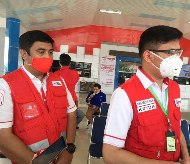 Fase New Normal PMI Sulawesi Selatan Lakukan Penyemprotan Disinfektan Serentak di 24 Kabupate Kota