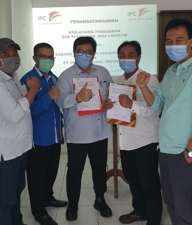 PT Pelindo II Tanjung Pandan Kerjasama Dengan PT Multi Terminal Indonesia Dalam Pemasaran dan Layanan Logistik