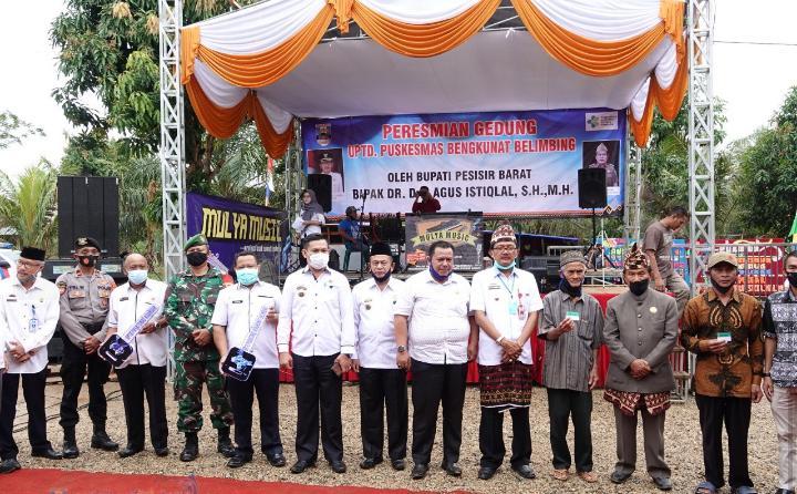 UPTD Puskesmas Bengkunat Belimbing Miliki Gedung Baru