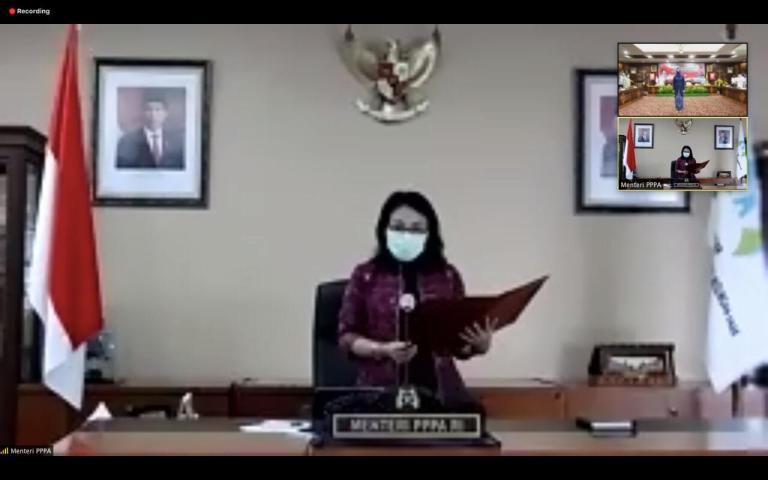 Menteri PPPA: Menyelamatkan Anak Hari Ini, Akan Membawa Kita Pada Indonesia Yang Lebih Baik Dimasa Depan