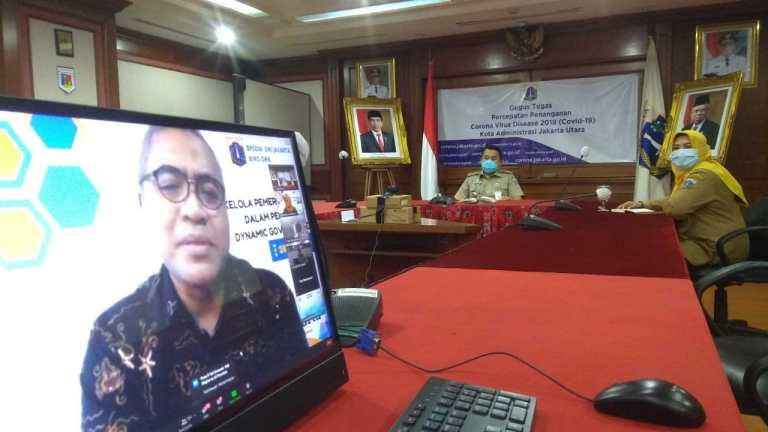 Walikota Jakarta Utara Ikuti Webinar Untuk Meningkatkan Kualitas Pelayanan Publik
