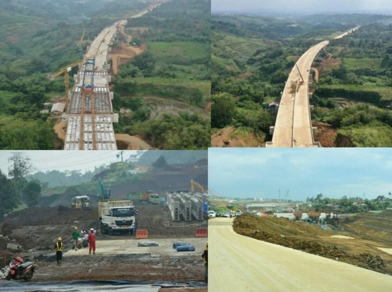 Jalan Tol Ciawi-Sukabumi Seksi Cigombong – Cibadak Selesai Agustus 2021, Konstruksi Telah Capai 76%