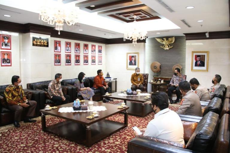 Silahturahmi Dengan Pimpinan BRI, Kapolri Dorong BRI InovasiMembangkitkan UMKM