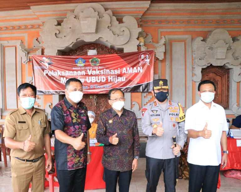 Gubernur Koster Perjuangkan 2.860.116 Penduduk Bali Divaksinasi, Sebanyak 139.884 Sudah Divaksin