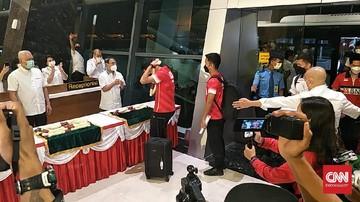 Tim All England Indonesia Disambut Selayaknya Sang Juara