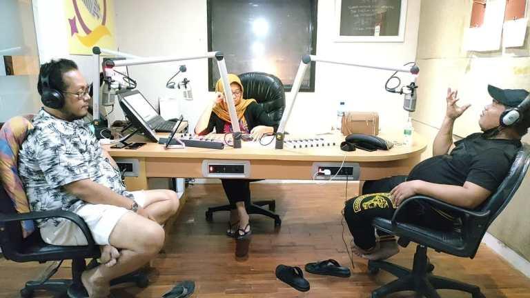 Artis Label Mesra Musik Live di Program Genta Gemilang Radio Tangerang 91 FM