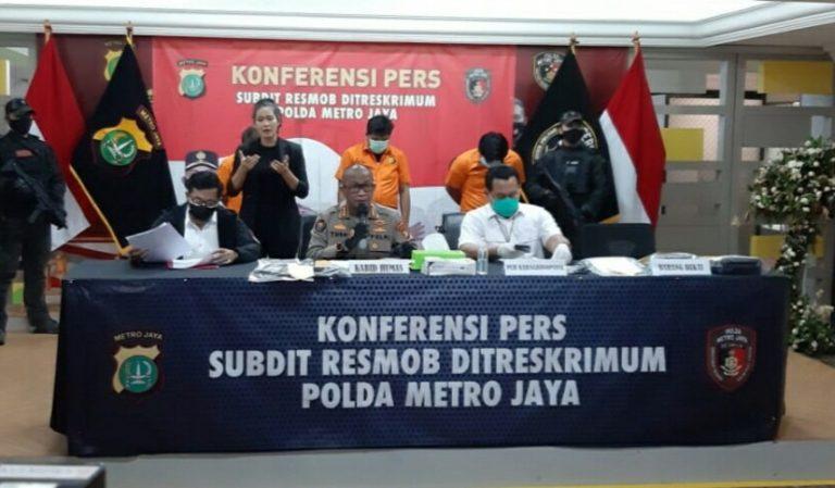 Polisi Gadungan Gerebek Judi Memeras, Diringkus Resmob