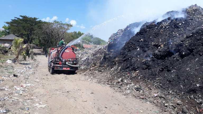 Kata Kadis LH Melandrat: Hampir 1,8 Hektar TPA Bengkala-Bungkulan Terbakar