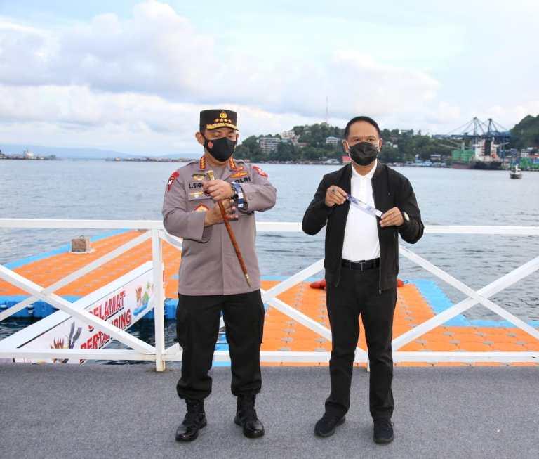 Kapolri Tinjau 3 Venue Pastikan Prokes dan Pengamanan PON Papua