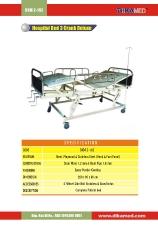 10. Hospital bed 3 crank deluxe