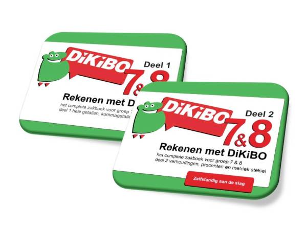 DiKiBO Rekenen Compleet groep 7 en 8