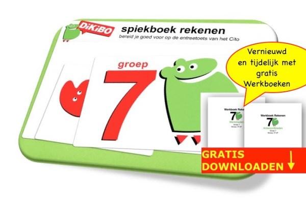 DiKiBO Spiekboekje rekenen groep 7 Special Edition