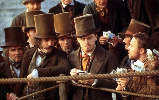GANGS OF NEW YORK  2002 Entertainment film with Leonardo DiCaprio