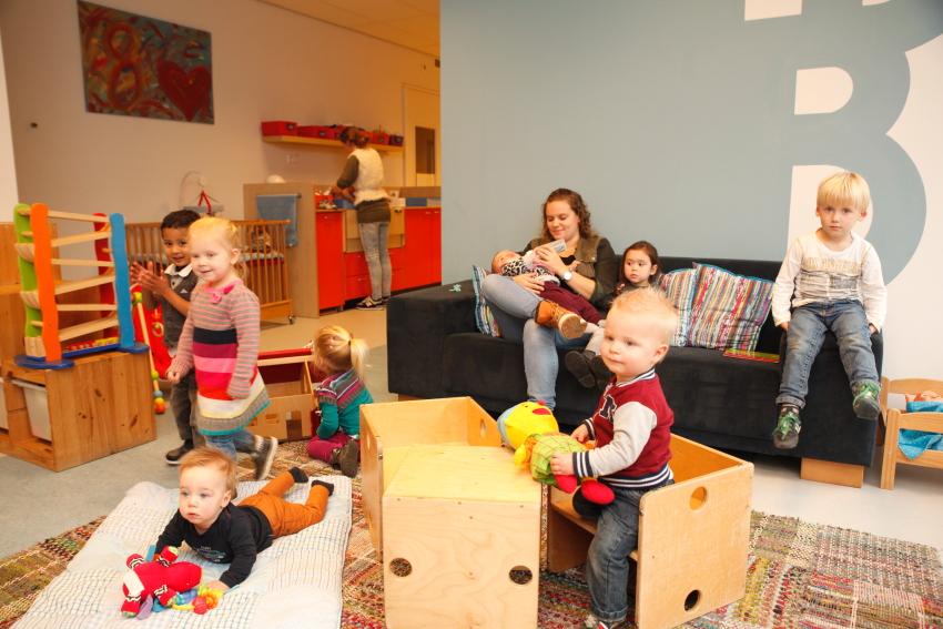 dagopvang baby-dreumesgroep in acht Eindhoven