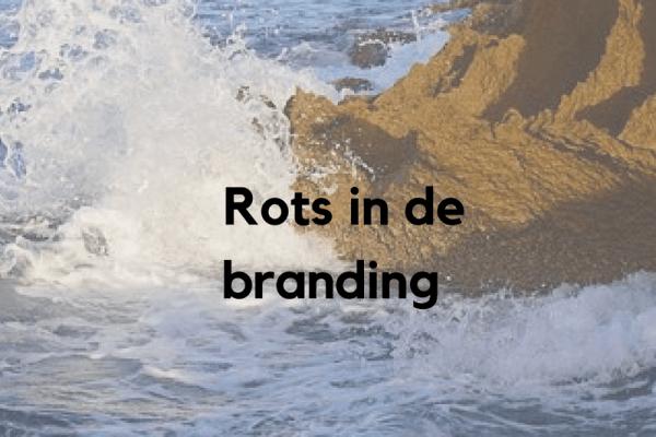 Rots in de branding