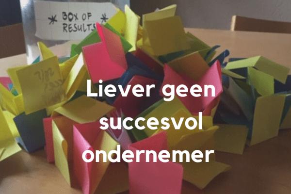 succesvol ondernemer