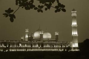 Badshahi Mosque Lahore - in lights