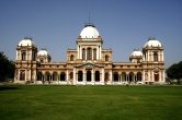 The Noor Mahal is a beautiful palace built in Bahawalpur, Pakistan. It was built in 1872 like an Italian chateau on neoclassical lines, strangely at a time when modernism had set in. There are various stories regarding its construction. According to one belief, Nawab Sadiq Muhammad Khan IV had the palace made for his wife. However, she was there for one night, only as she happened to see the adjoining graveyard from her balcony, and refused to spend another night there and so it remained unused during his reign.