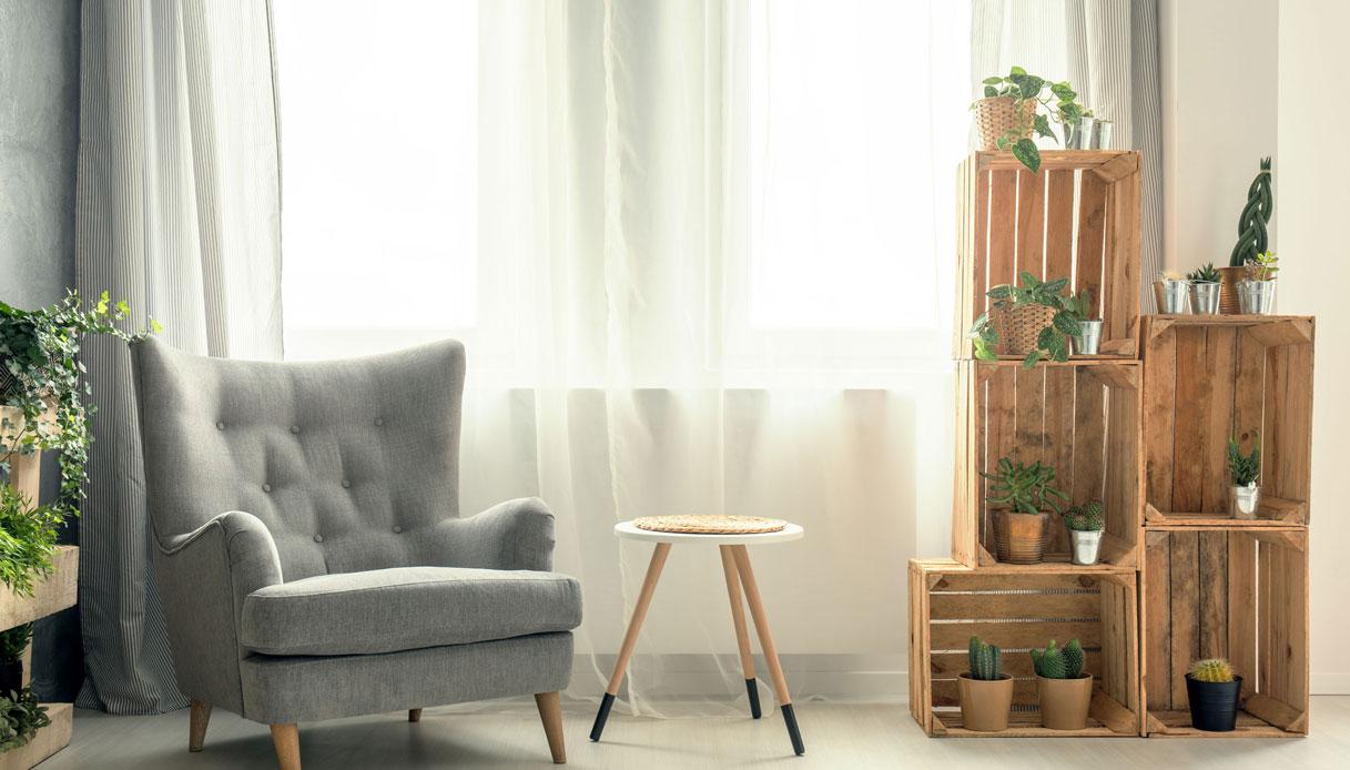 L'idea della decorazione leggera della stanza con un albero fai da te. Arredare Casa Gratis O Quasi Idee Low Cost Fai Da Te Dilei