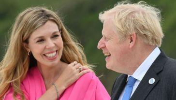 Carrie Symonds è incinta: aspetta il secondo figlio da Boris Johnson